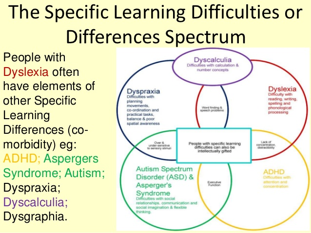 Specific Learning Difficulties or Differences Spectrum, ADD, ADHD, Dyslexia, Dyscalculia, Dysgraphia, Processing Disorder, Ballwin, MO, Brain Help